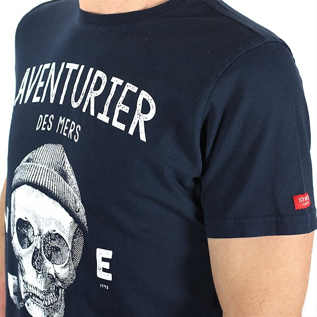 T-shirt Ancre Marine gris plomb