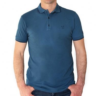 Polo STD - Bleu canard