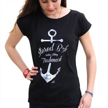 T-shirt Ancre Marine - Noir