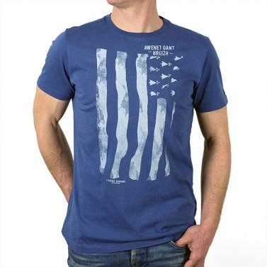 T-shirt Gwenn Ha Du - Bleu...