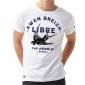 T-shirt Blason Hermine - noir