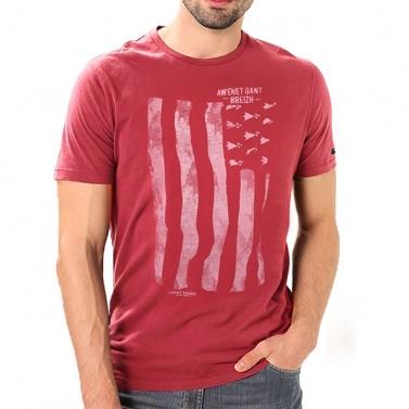 T-shirt Gwenn Ha Du - Brique