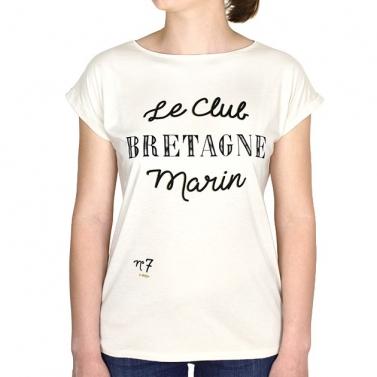 T-shirt Club Bretagne - Miel