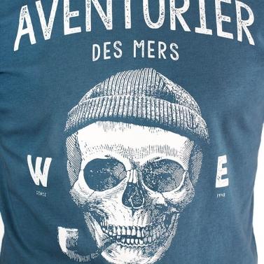 T-shirt Rayé chiné