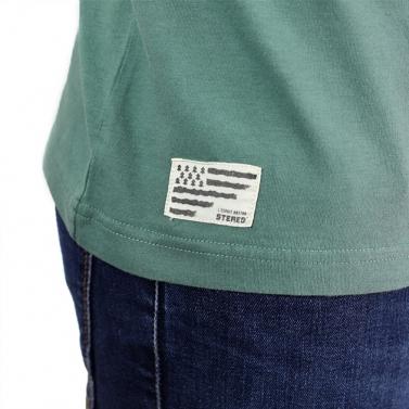T-shirt féminin -Stripes - chiné