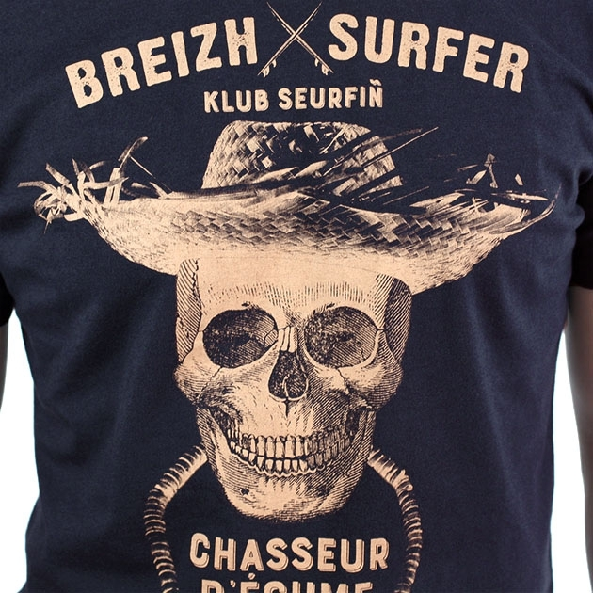 T-shirt féminin - Paradise - chiné