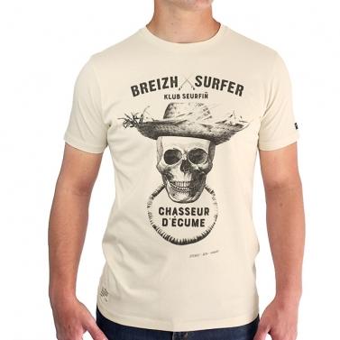 T-shirt Breizh Surfer - Miel