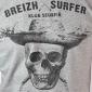 T-shirt Aventurier des mers - brique
