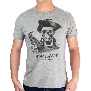 T-shirt Malouin - Gris chiné