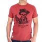 T-shirt Aventurier des mers - gris chiné