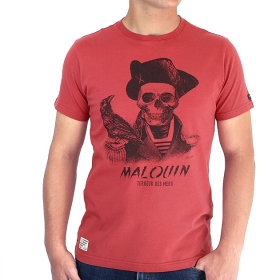 T-shirt Malouin - Brique