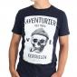 T-shirt Ancre Marine - bleu clair