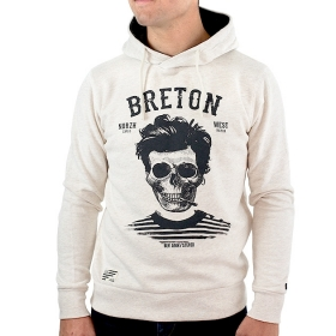 Sweat à capuche Breton |...