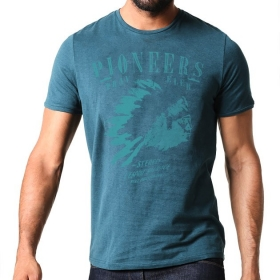 T-shirt Pioneers - Teal