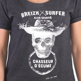 T-shirt surfeuse
