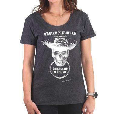 T-shirt Breizh Surfer Femme