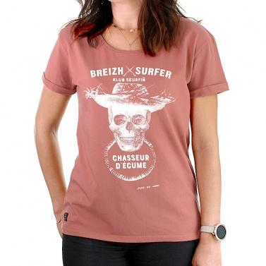 T-shirt féminin Breizh Surfer