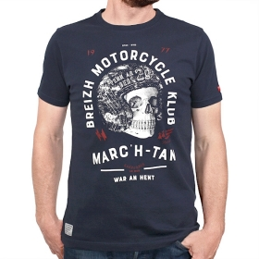 T-shirt Breizh Motorcycle klub
