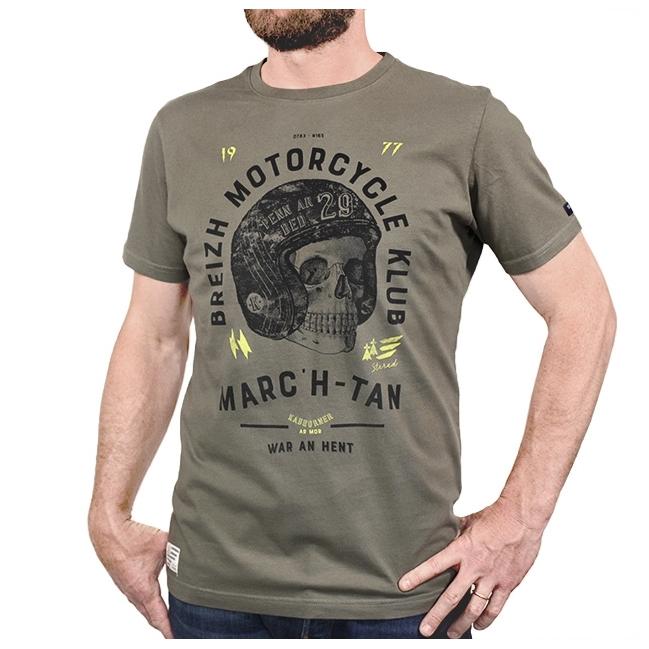 T-shirt motard breton