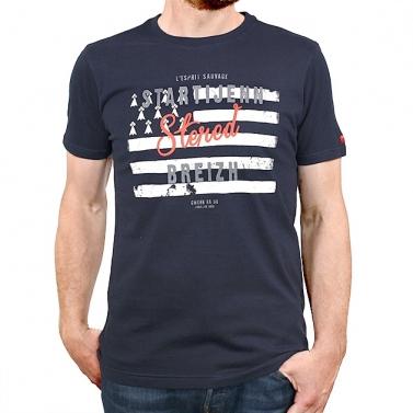 T-shirt Startijenn Drapeau...