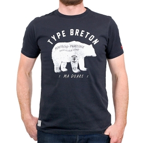 T-shirt Type Breton Ours