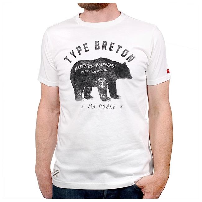 T-shirt Ours breton