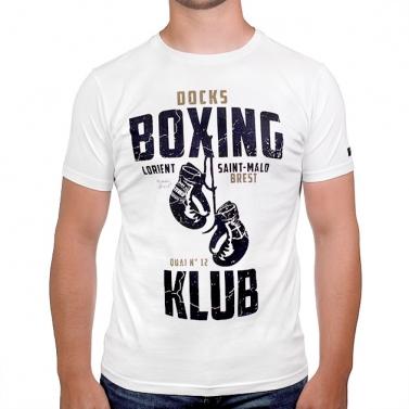 T-shirt Boxing Klub - Écru