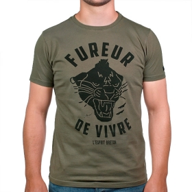 T-shirt Fureur de Vivre - Kaki