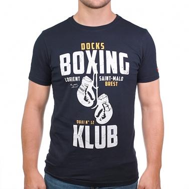 T-shirt Boxing Klub - Marine