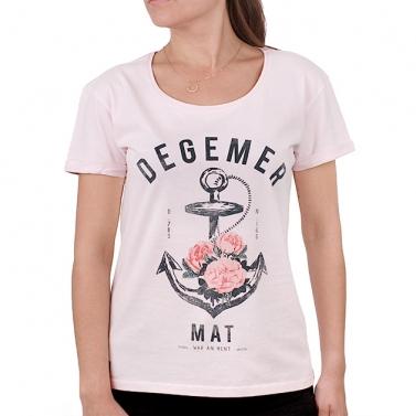T-shirt Degemer Mat - Rose...