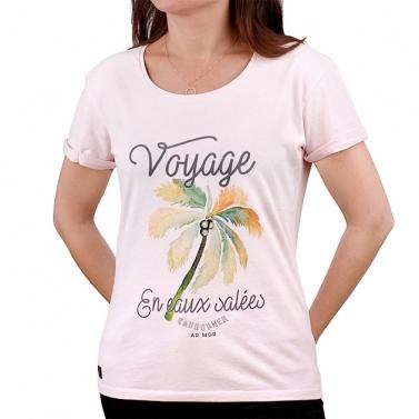 T-shirt Voyage en Eaux...