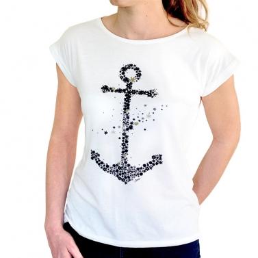 T-shirt Ancre Envolée - Ecru