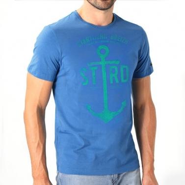 T-shirt Ancre Marine - Bleu...