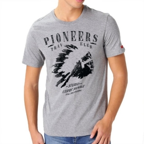 T-shirt Pioneers - Gris chiné