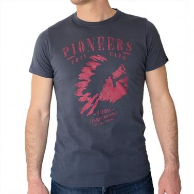 T-shirt Pioneers - Gris plomb
