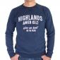 T-shirt Tamps Bleu Foncé - marine
