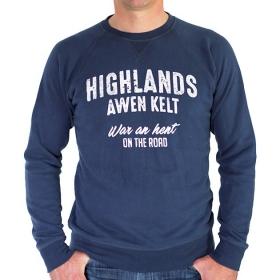 Sweat-Shirt Highlands - Marine