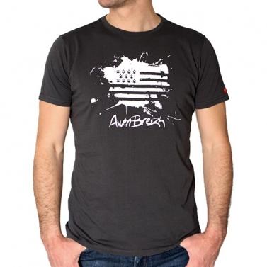 T-shirt Awen Breizh Stain -...