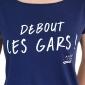 T-shirt Blason Hermine - rouge