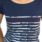 T-shirt Rock Triskels - cobalt