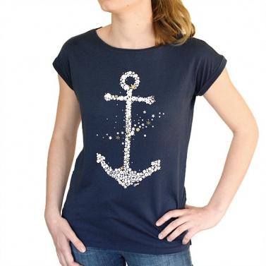 T-shirt Ancre Envolée -...